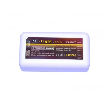 LED диммер 8A RF 12V 4 zone WHITE (MI-Light)